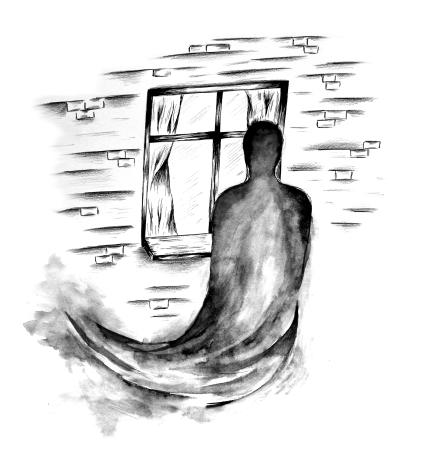 Fensterschatten Illustration